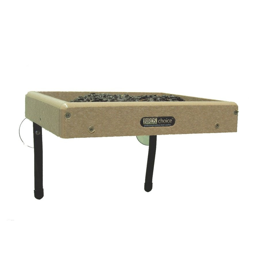 Birds Choice Recycled Plastic Platform Bird Feeder