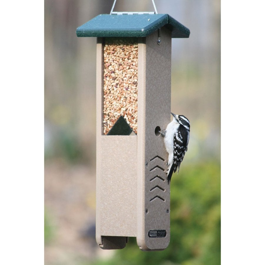 Birds Choice Recycled Plastic Hopper Bird Feeder
