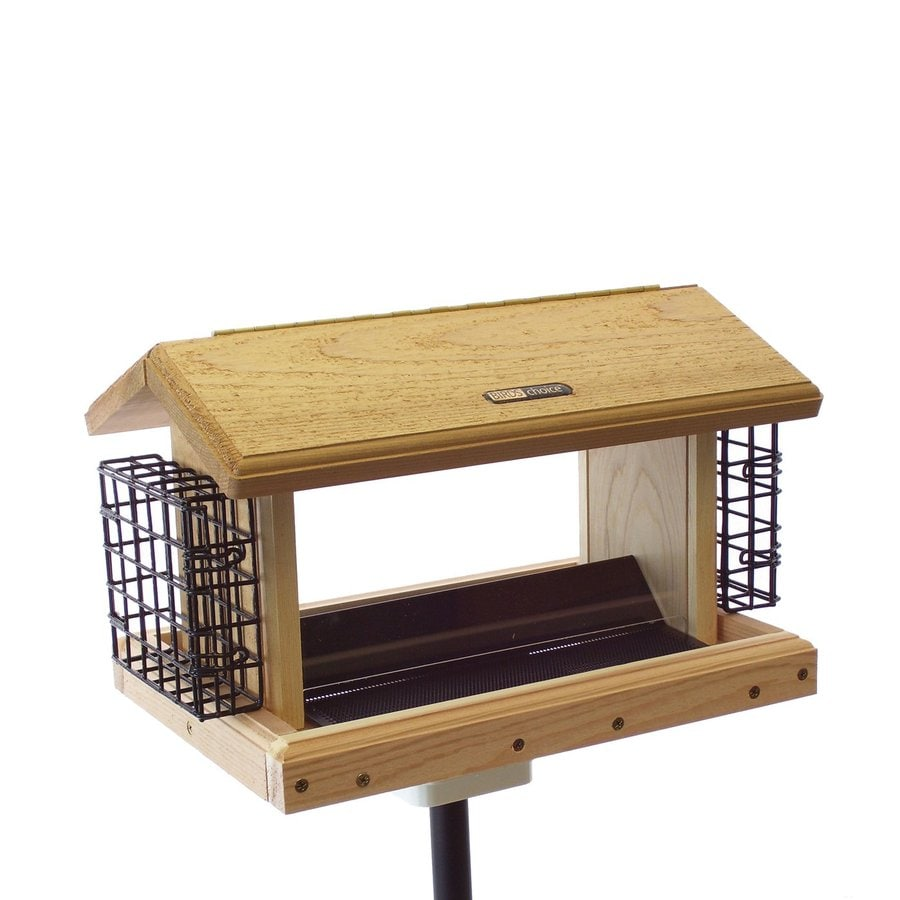 Birds Choice Cedar 5-Quart Hopper Bird Feeder