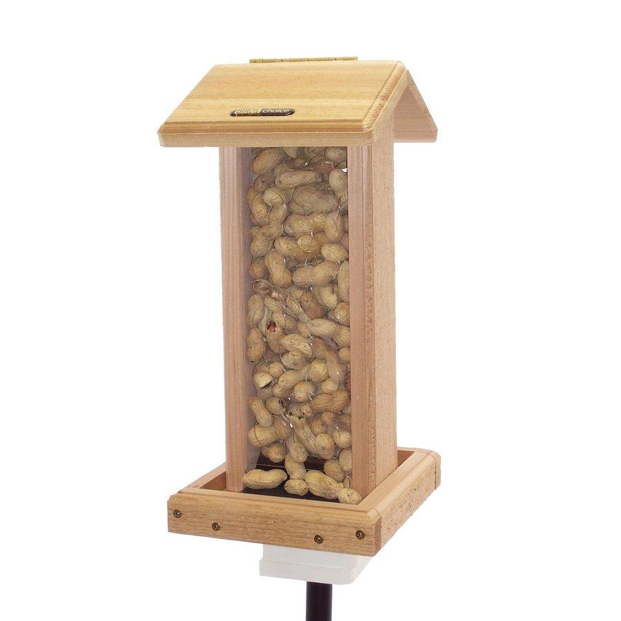 Birds Choice Cedar 1.25-Quart Hopper Bird Feeder