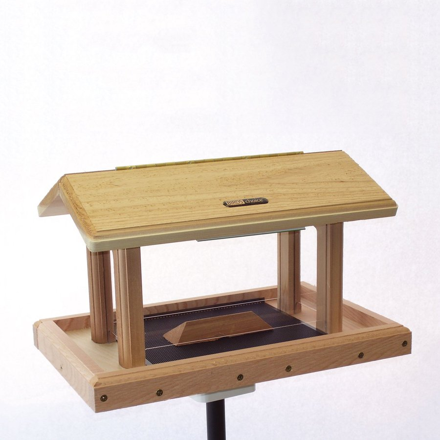Birds Choice Cedar 6-Quart Hopper Bird Feeder