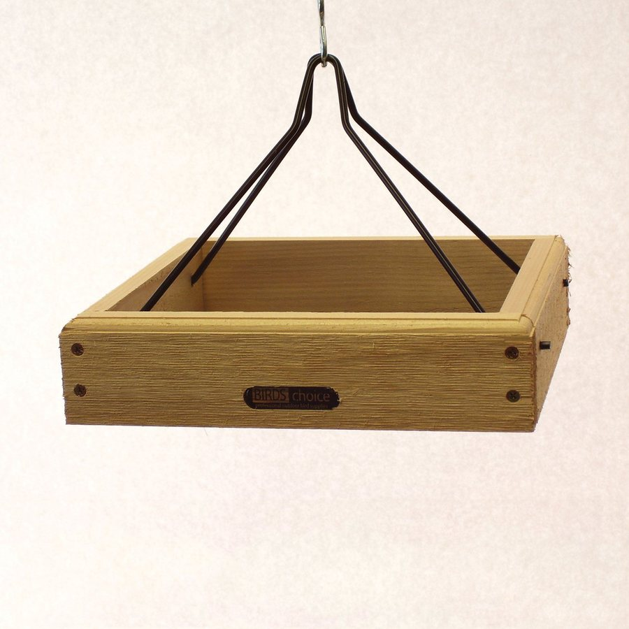 Birds Choice Cedar Platform Bird Feeder