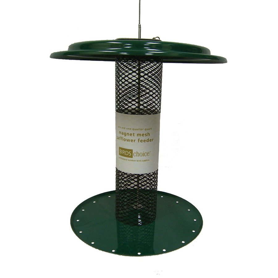 Birds Choice Safflower Steel 1.25-Quart Tube Bird Feeder