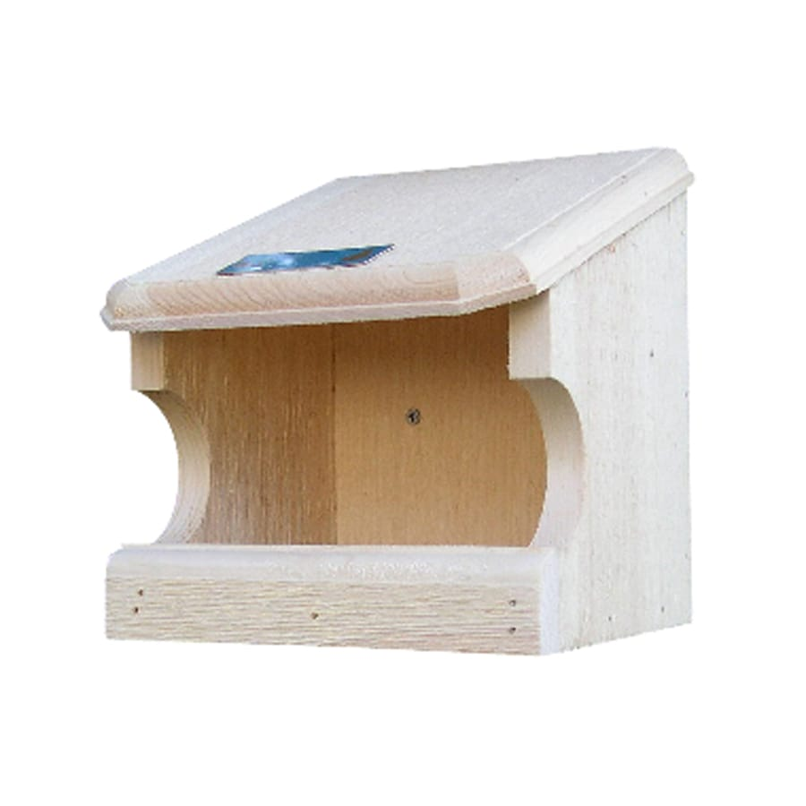 Coveside Conservation 8.75-in W x 9.5-in H x 9.25-in D Unfinished Pine Bird House
