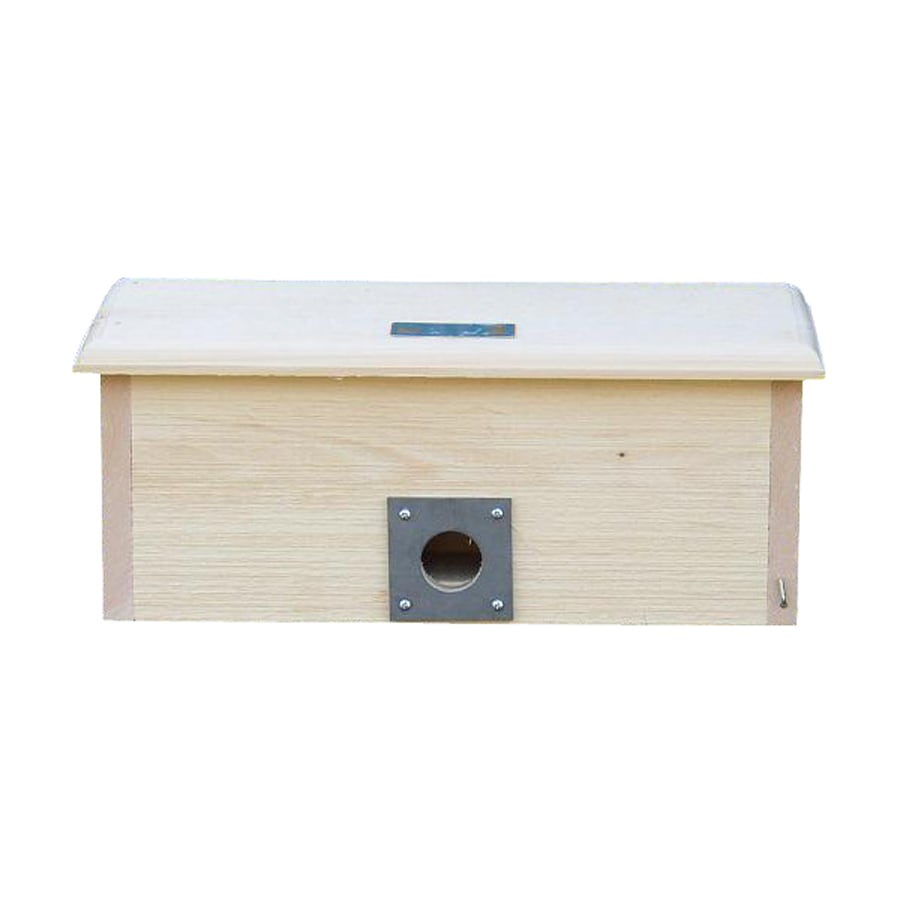 Coveside Conservation 18-in W x 7.75-in H x 7-in D Unfinished Pine Bird House