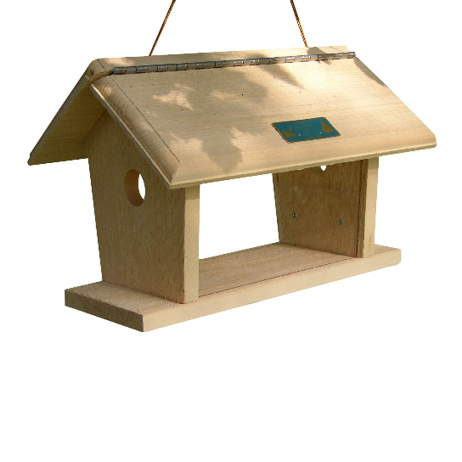 Coveside Conservation Wood Enclosed Platform Bird Feeder