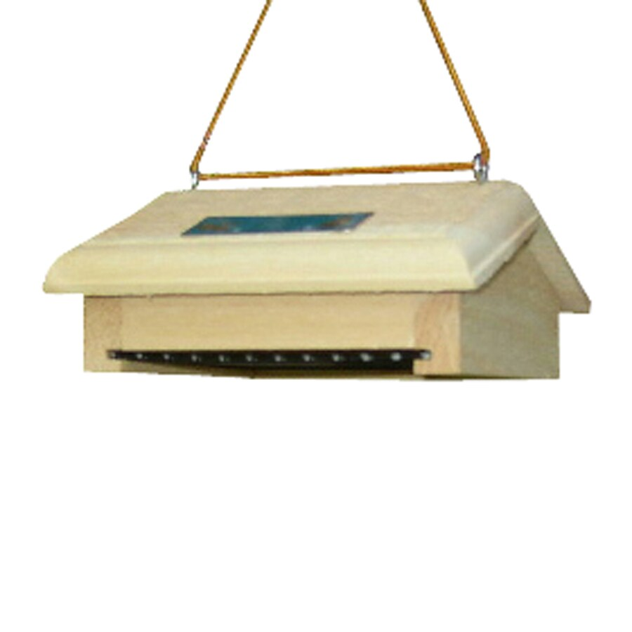 Coveside Conservation Mini Unfinished Pine One-Cake Wood Suet Feeder