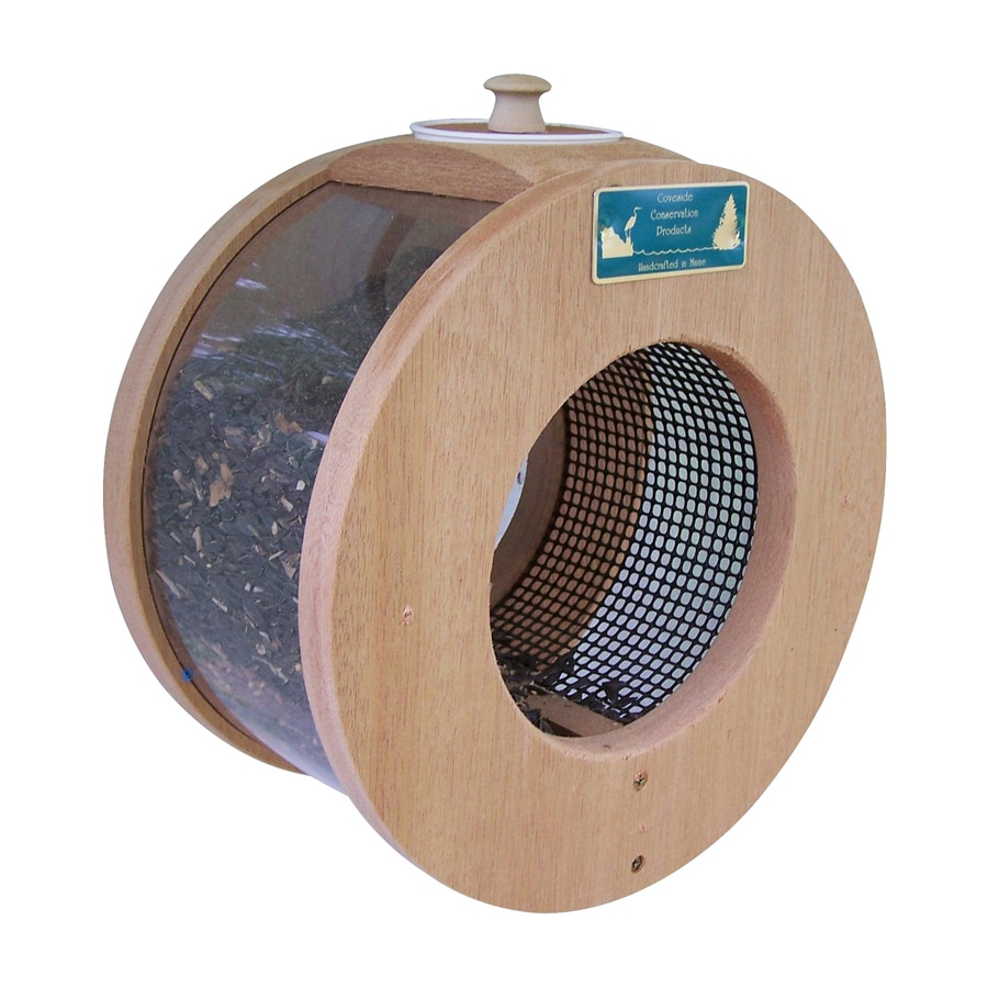 Coveside Conservation Port Hole Wood Window Bird Feeder