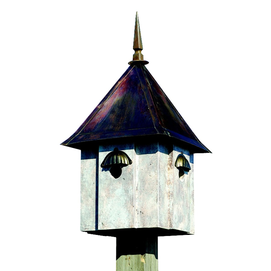 Heartwood 13-in W x 24-in H x 13-in D Old World Bird House