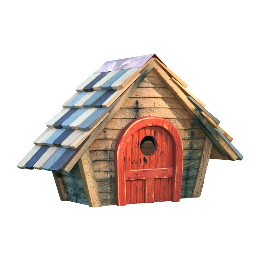 Heartwood 15-in W x 11-in H x 8-in D Natural Bird House