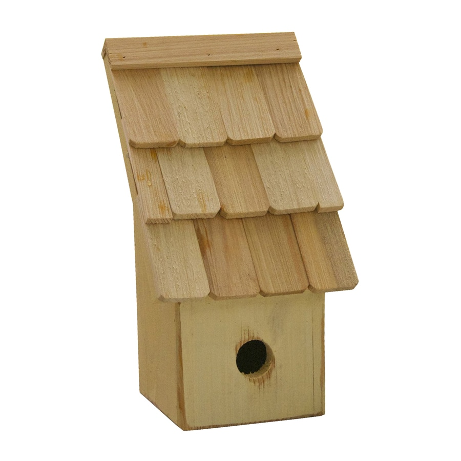 Heartwood 6-in W x 11-in H x 5-in D Pear Bird House