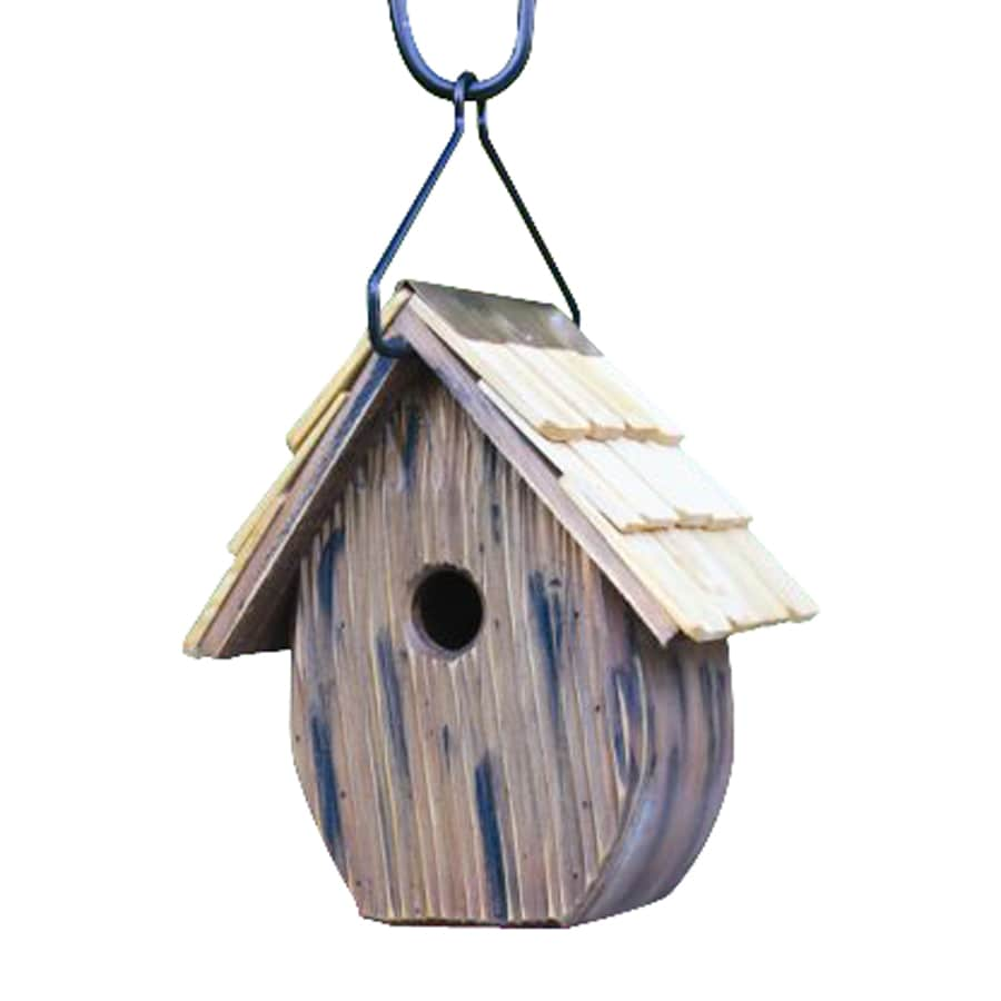 Heartwood 10-in W x 11-in H x 6-in D Natural Bird House
