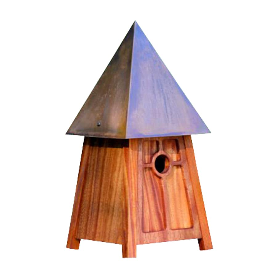 Heartwood 9-in W x 20-in H x 9-in D Natural Bird House