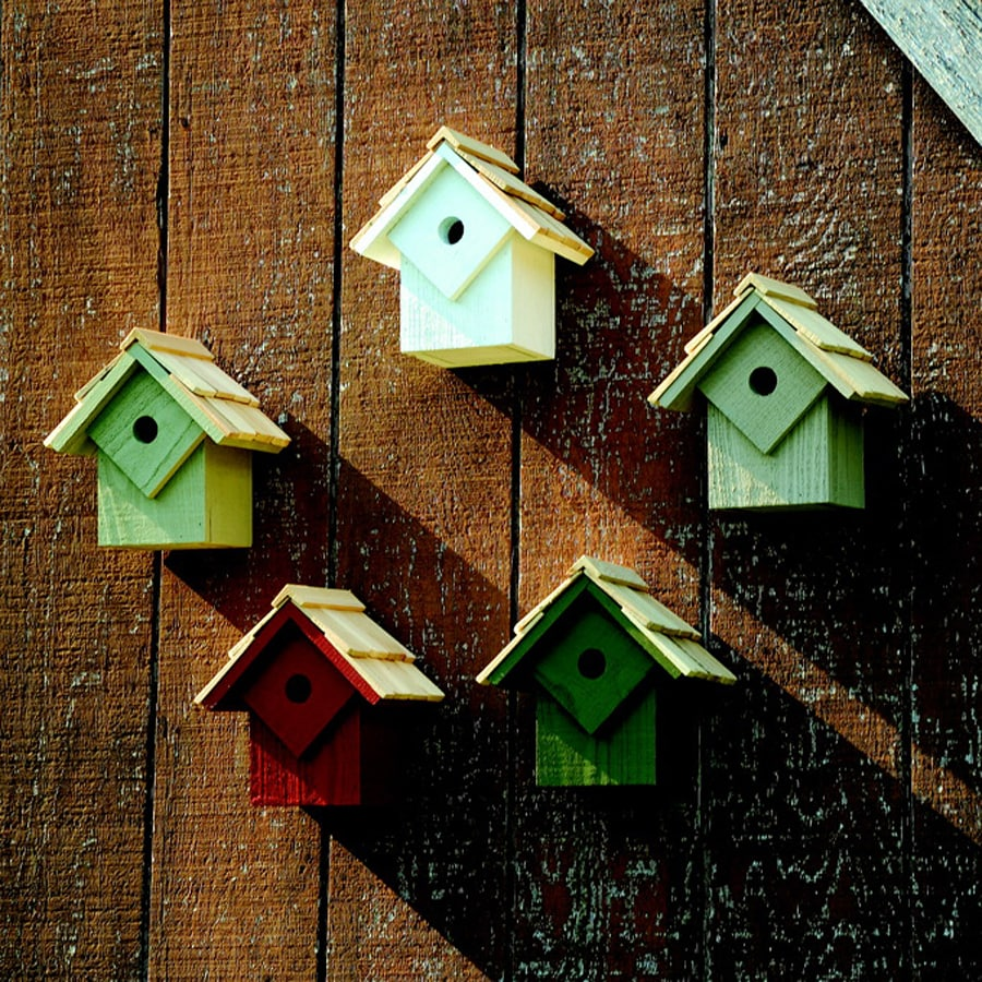 Heartwood 8-in W x 9-in H x 8-in D Traditional Bird House