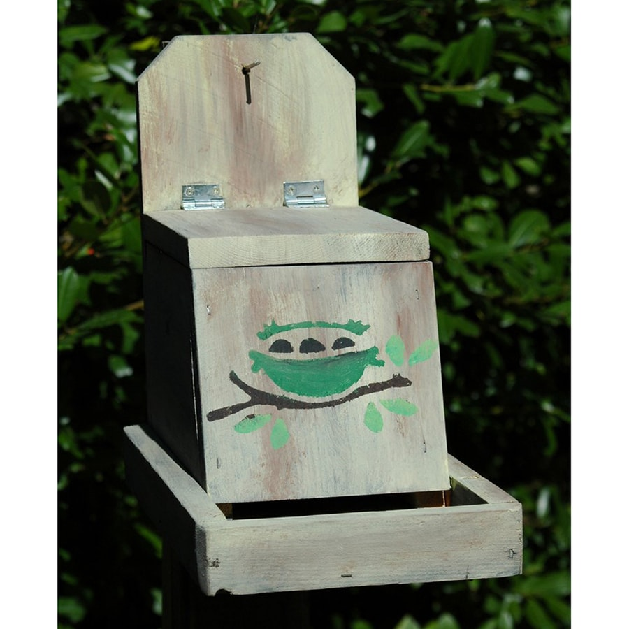 shop wilderness series products country cooking wood platform bird feeder at. Black Bedroom Furniture Sets. Home Design Ideas