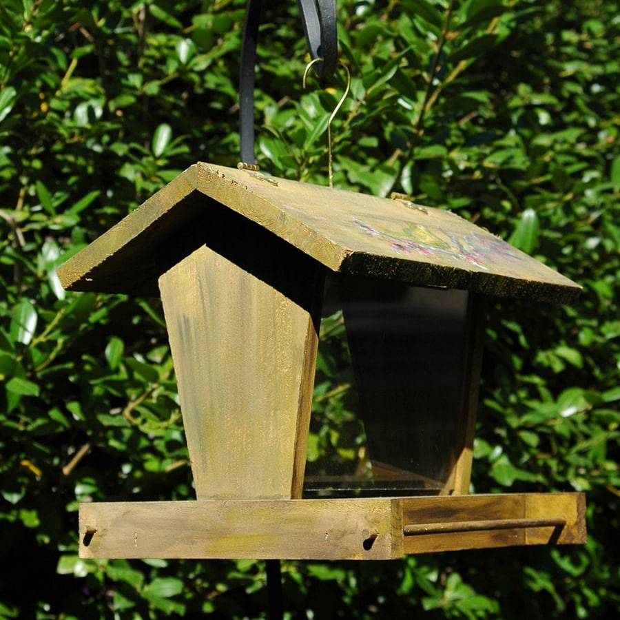 Wilderness Series Products Old Diner Ii Wood Hopper Bird Feeder