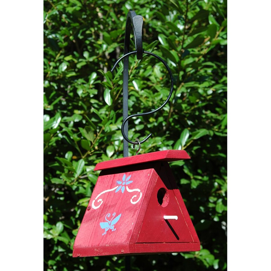 Wilderness Series Products 7-in W x 8-in H x 7-in D Red Bird House