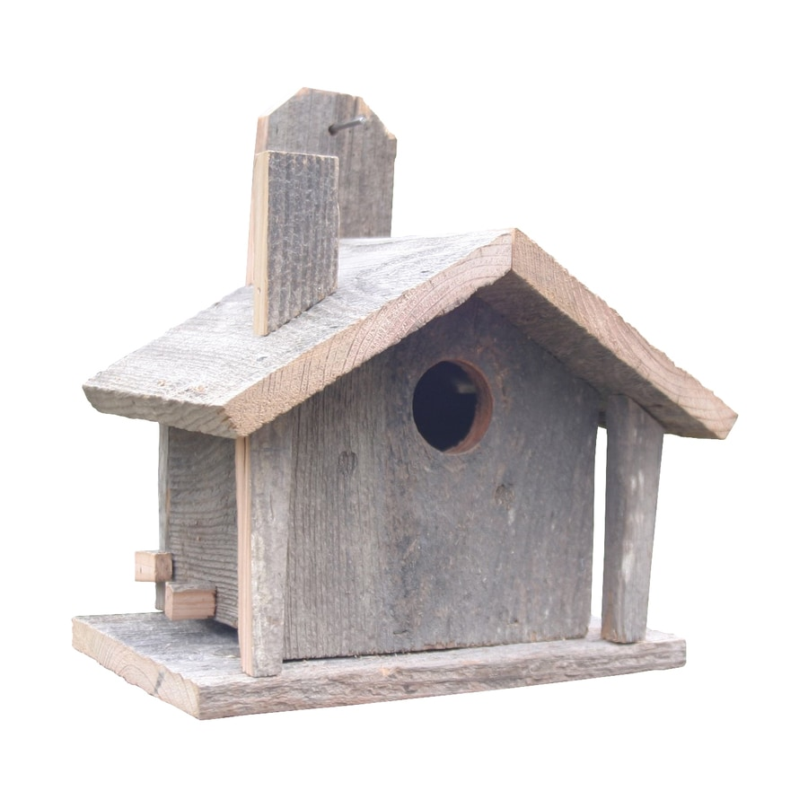 Wilderness Series Products 9-in W x 11-in H x 7-in D Natural Bird House