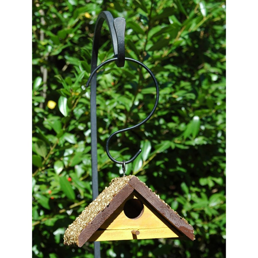 Wilderness Series Products 8-in W x 4-in H x 6-in D Yellow/Brown Bird House