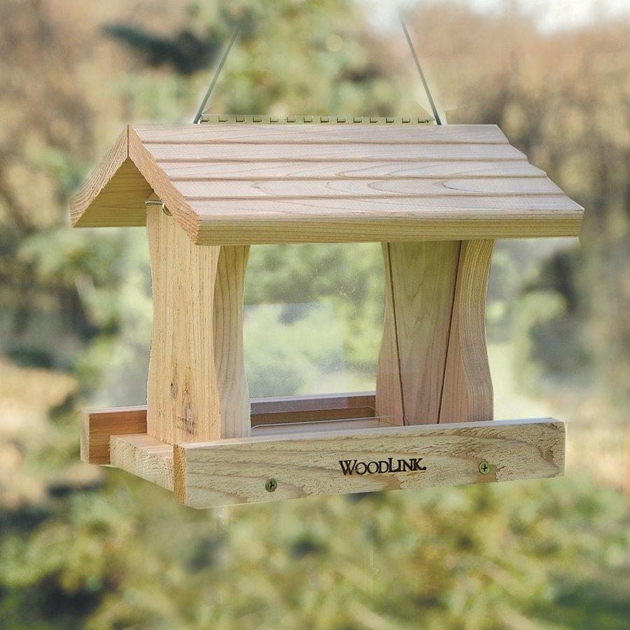 WoodLink Deluxe Cedar Hopper Bird Feeder