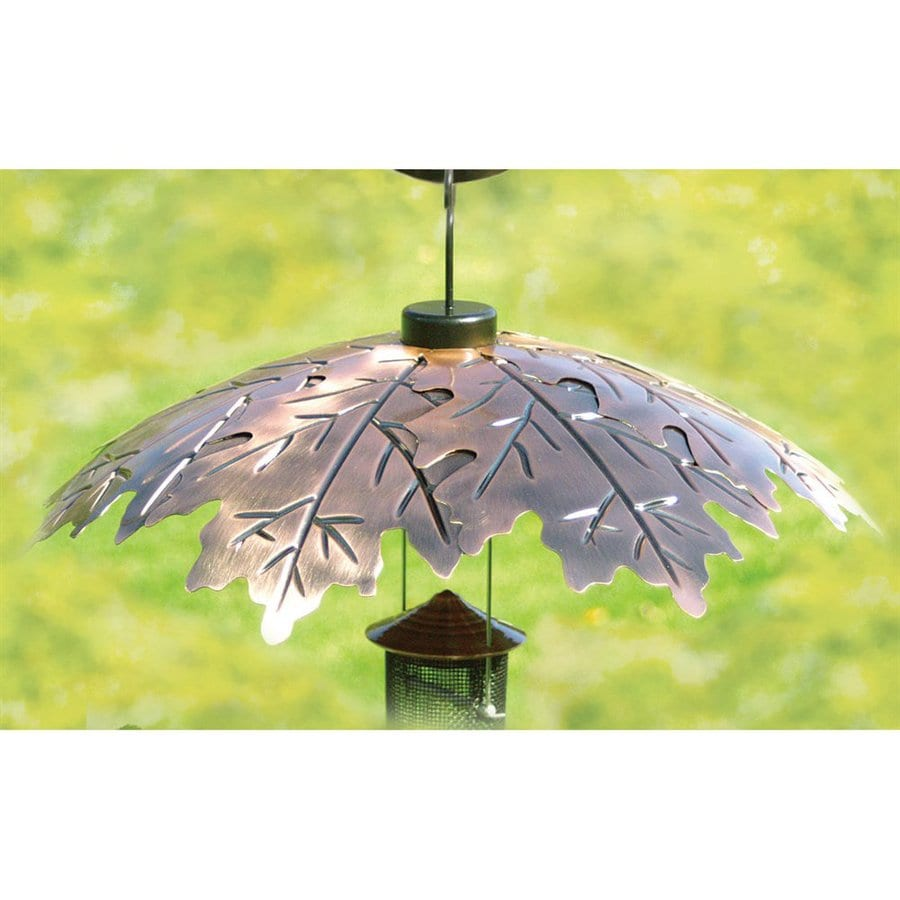 WoodLink Copper Bird Feeder Weather Shield