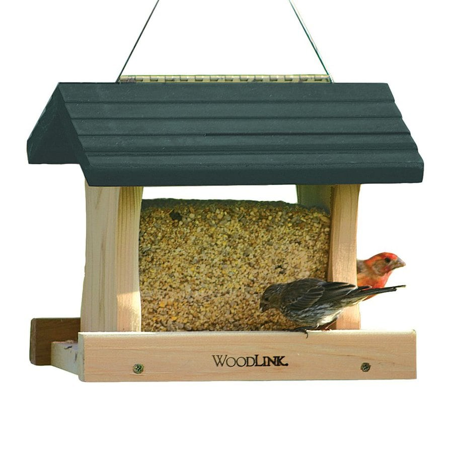 Shop WoodLink Cedar Hopper Bird Feeder at Lowes.com