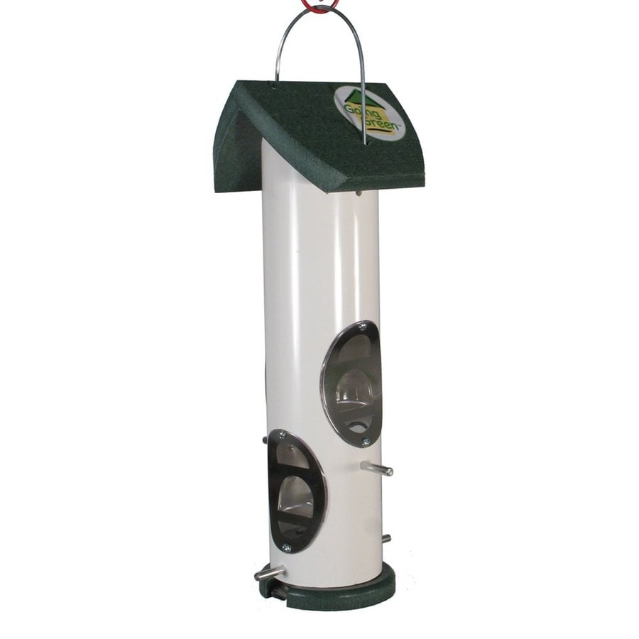 WoodLink Going Green Recycled Plastic Tube Bird Feeder