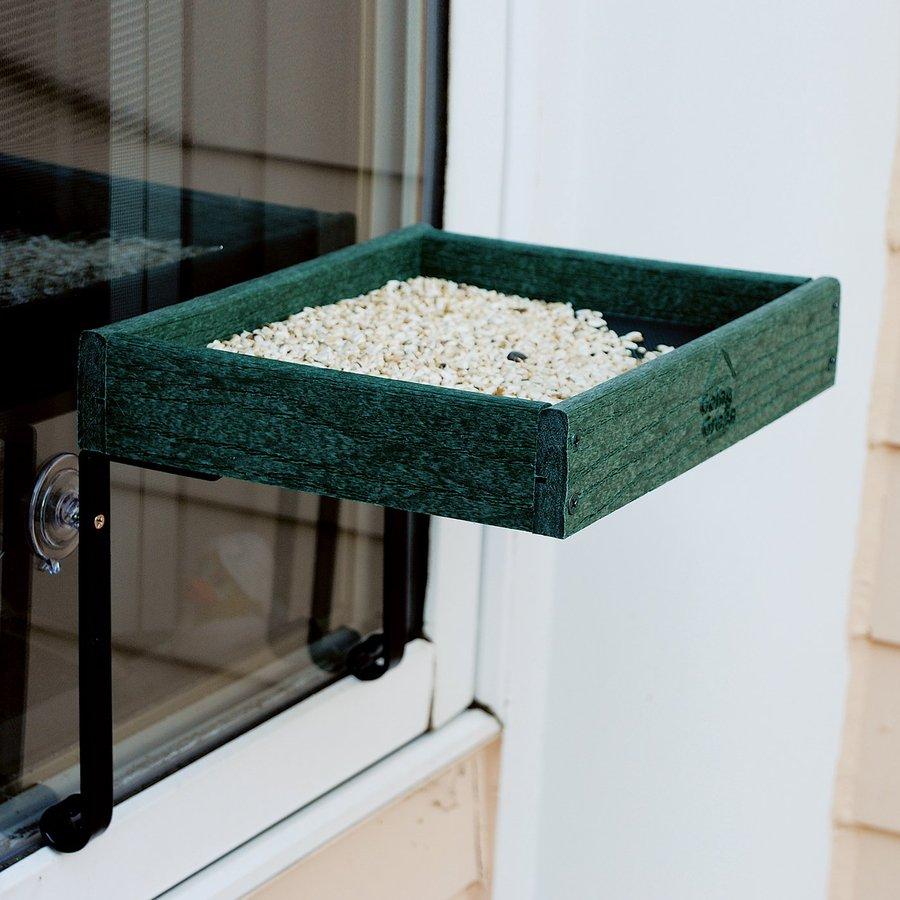 WoodLink Going Green Plastic Platform Bird Feeder