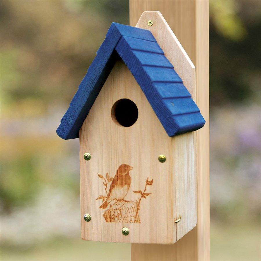 WoodLink 7.75-in W x 13-in H x 7.5-in D Bird House