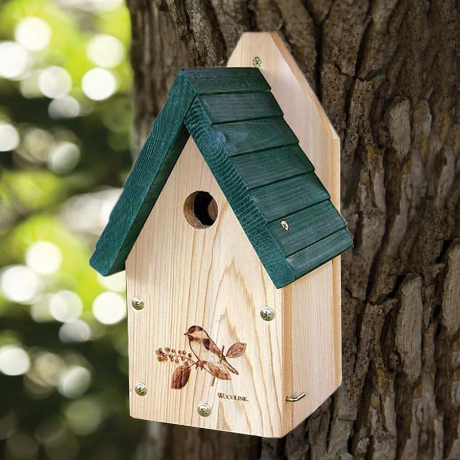 WoodLink 7.5-in W x 12-in H x 6-in D Bird House