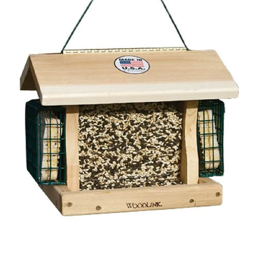 Shop Woodlink Premier Cedar Hopper Bird Feeder At Lowes Com