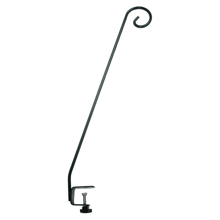 Shop Woodlink 1 Black Steel Bird Feeder Deck Hook At Lowes Com