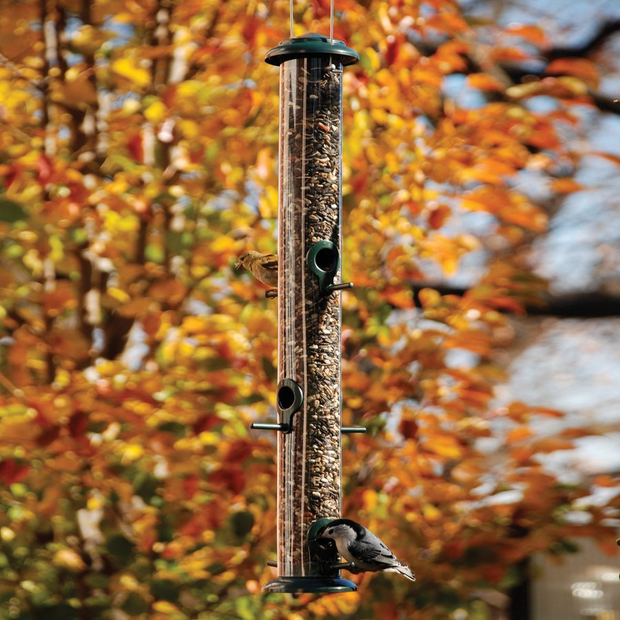 WoodLink Plastic Tube Bird Feeder
