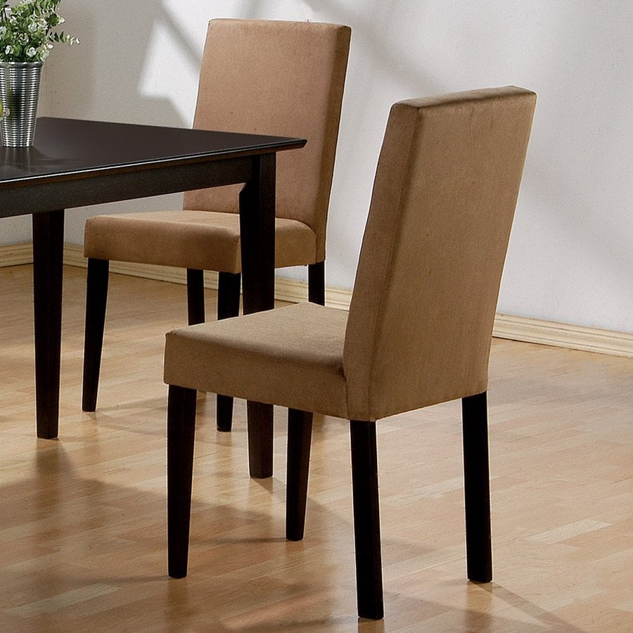 Coaster Fine Furniture Set of 2 Mix and Match Cappuccino Side Chairs