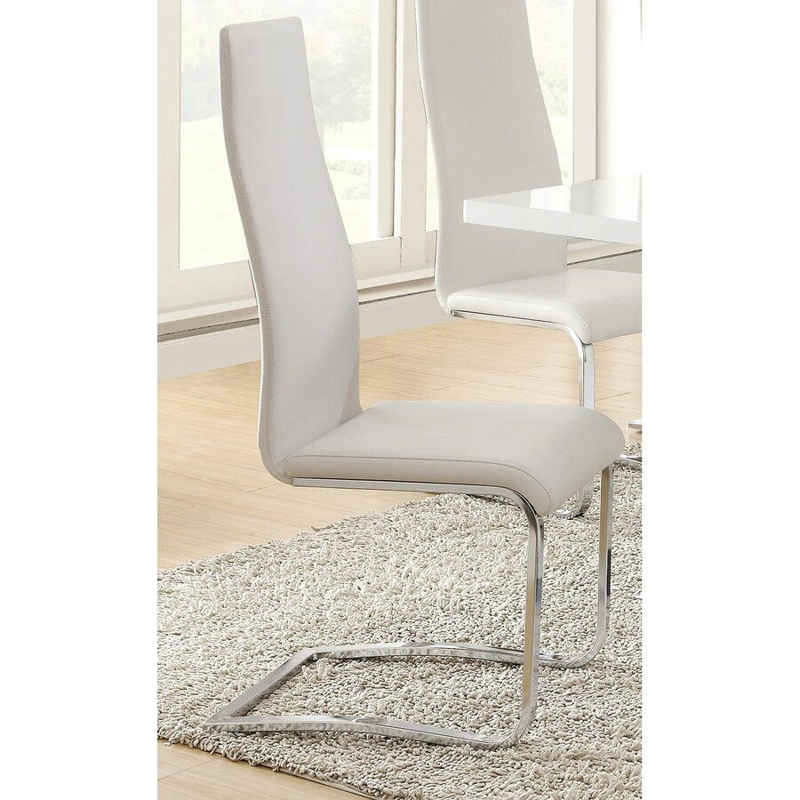 Coaster Fine Furniture Set of 4 Nameth Contemporary Side Chairs