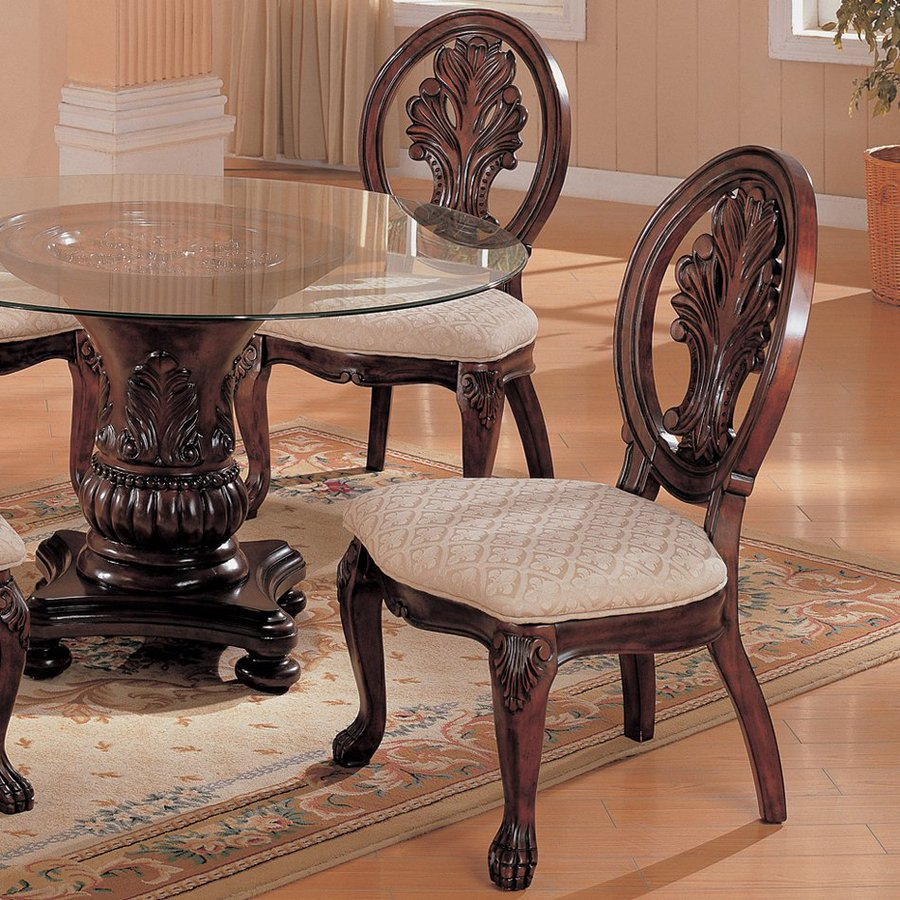 Coaster Fine Furniture Set of 2 Tabitha Traditional Side Chairs