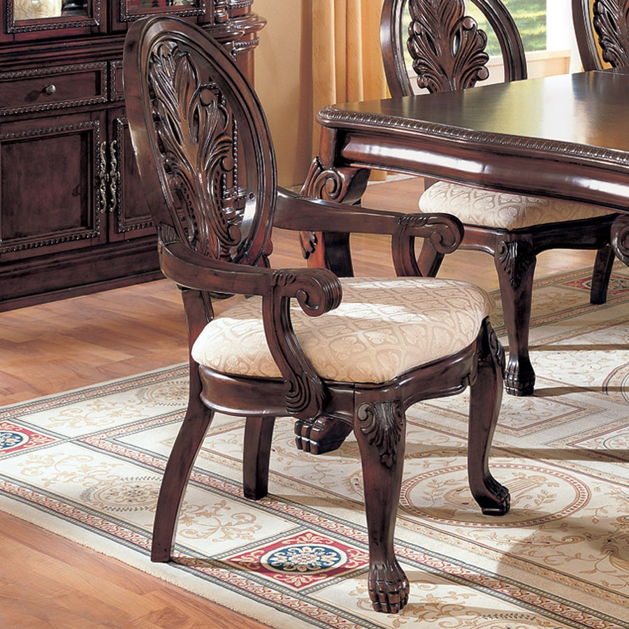 Coaster Fine Furniture Set of 2 Tabitha Traditional Arm Chairs