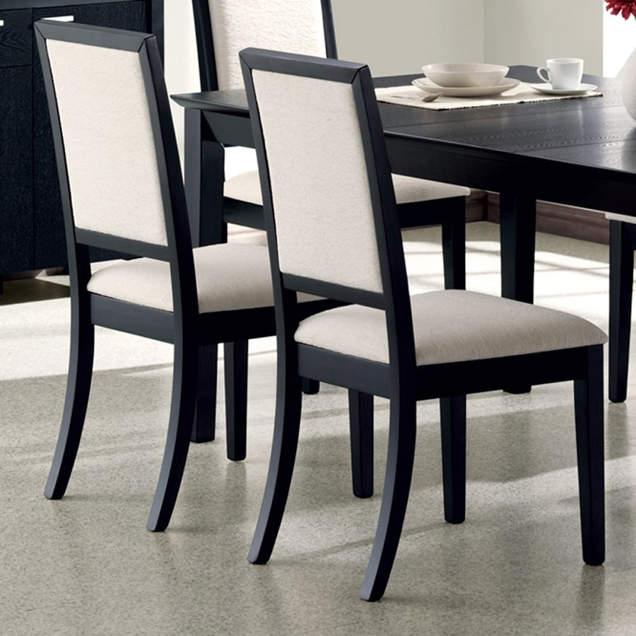 Bon Coaster Fine Furniture Set Of 2 Louise Contemporary Side Chairs