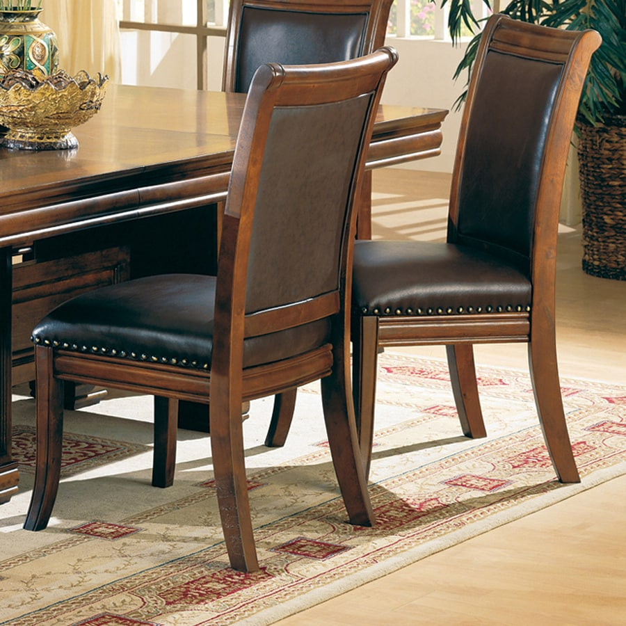 Coaster Fine Furniture 2 Westminster Cherry Side Chairs