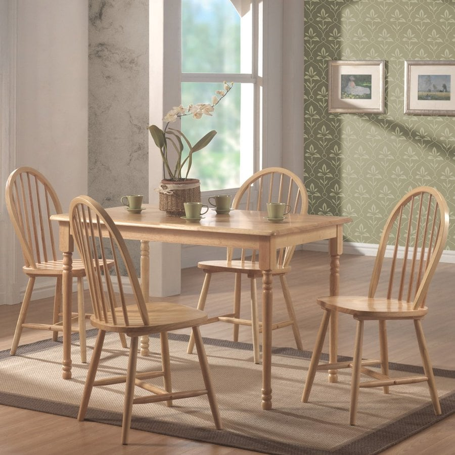 Coaster Fine Furniture Set of 4 Natural Side Chair