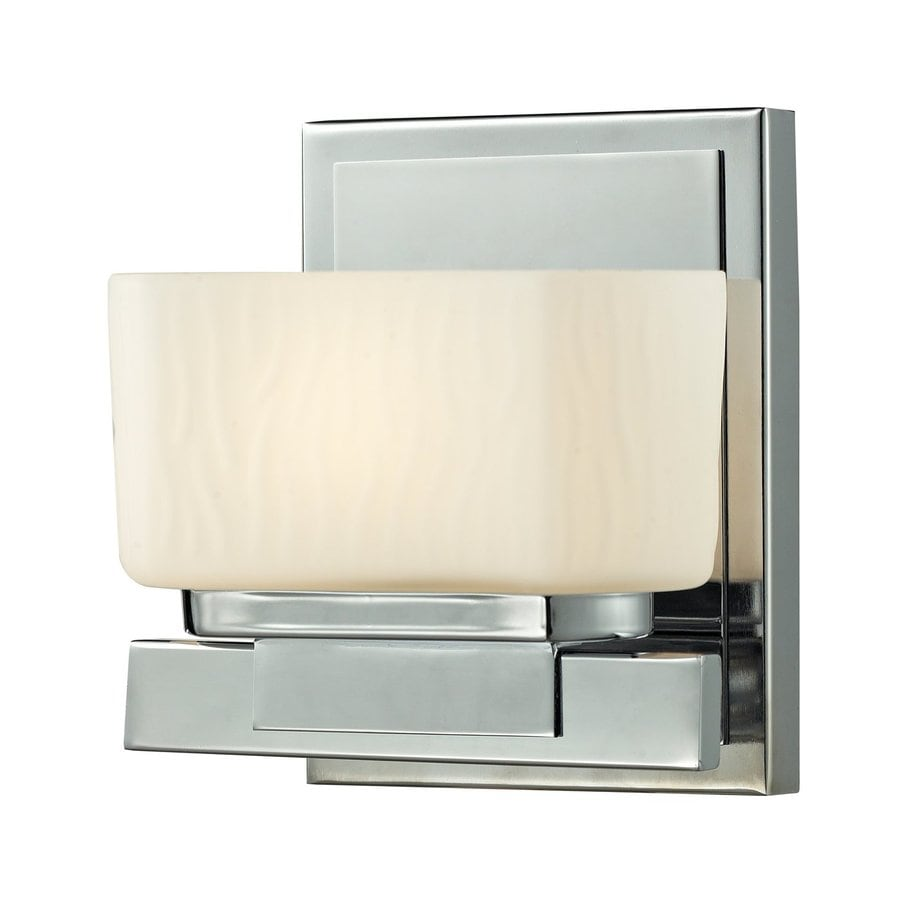 Z-Lite Gaia 1-Light Chrome Rectangle Vanity Light