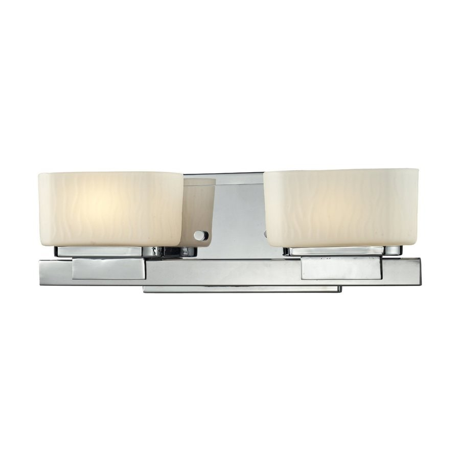 Z-Lite Gaia 2-Light Chrome Vanity Light