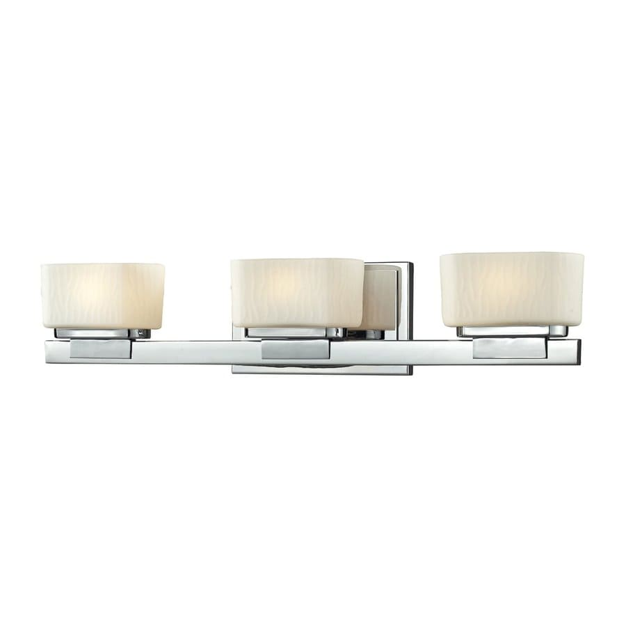 Z-Lite Gaia 3-Light Chrome Rectangle Vanity Light