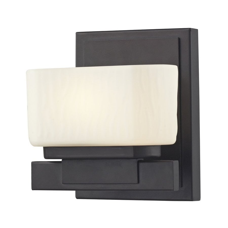 Z-Lite Gaia 1-Light Bronze Rectangle Vanity Light