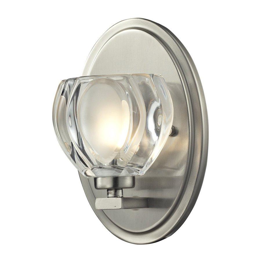 Z-Lite Hale 1-Light Brushed Nickel Bowl Vanity Light