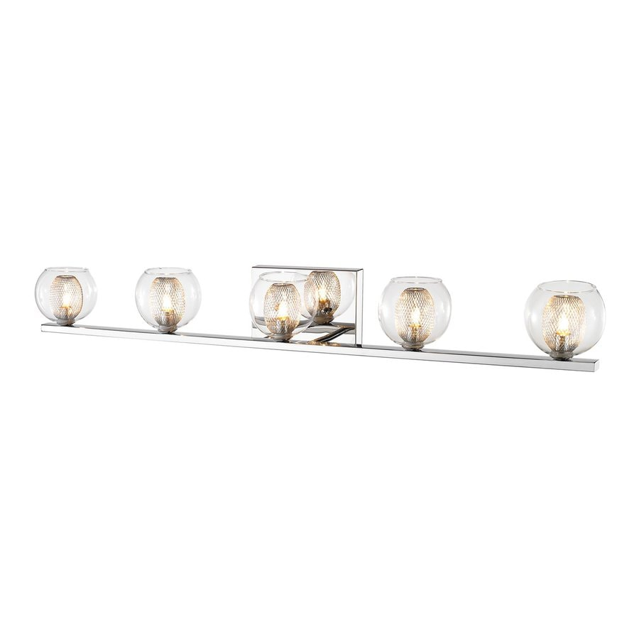 Z-Lite Auge 5-Light Chrome Bowl Vanity Light