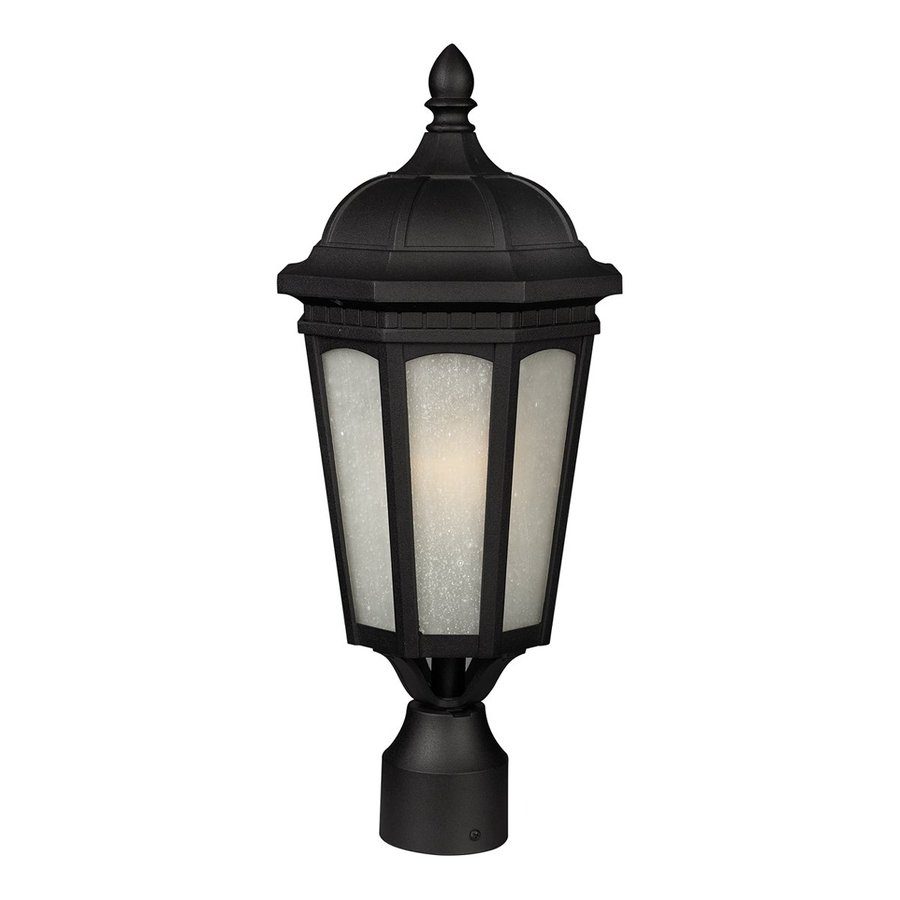 Z-Lite Newport 19.625-in H Black Post Light