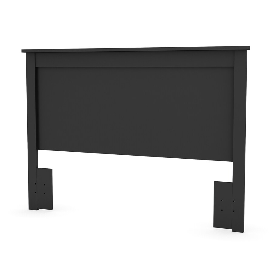 South Shore Furniture Vito Pure Black Full/Queen Headboard