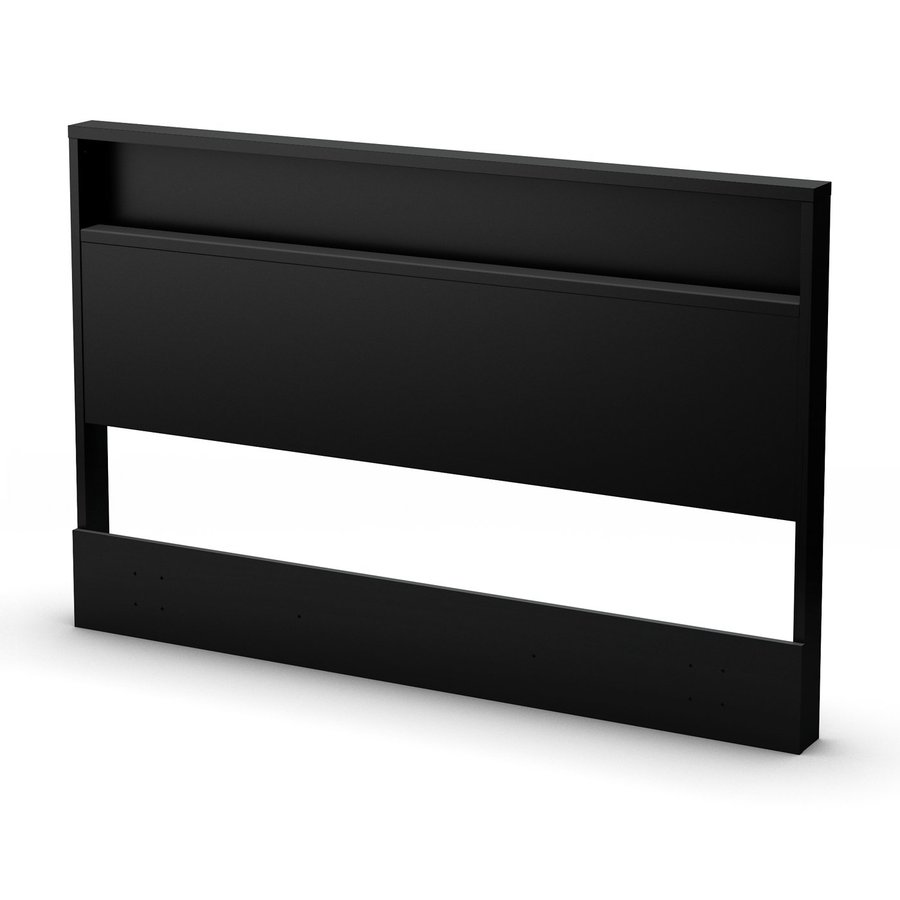 South Shore Bedroom Furniture Shop South Shore Furniture Holland Pure Black Full Queen Headboard