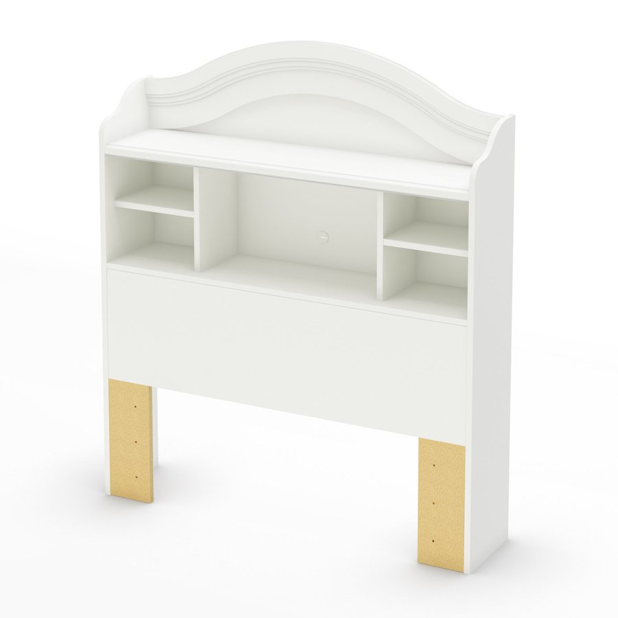 South Shore Furniture Savannah Pure White Twin Headboard